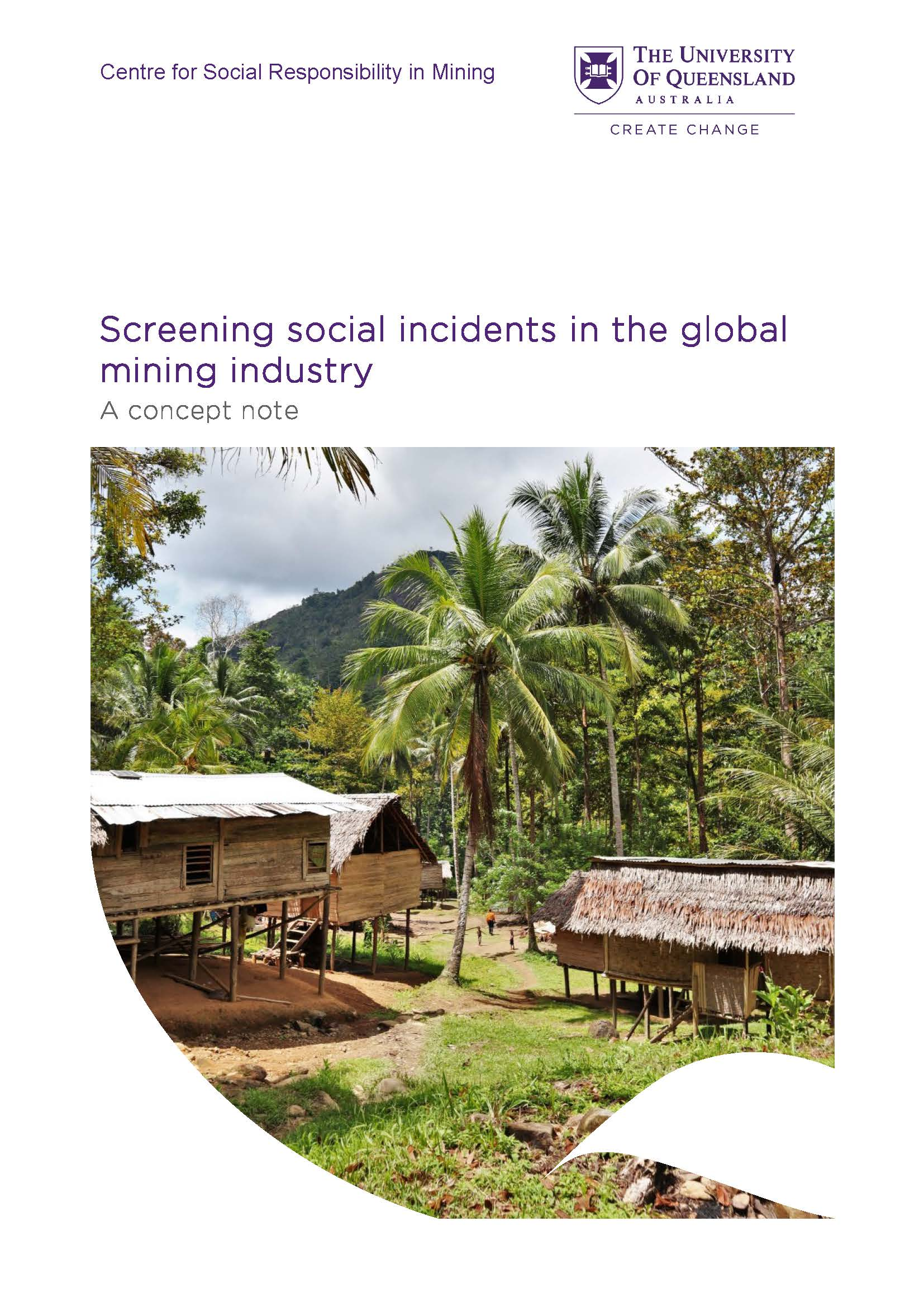 Screening social incidents in the global mining industry