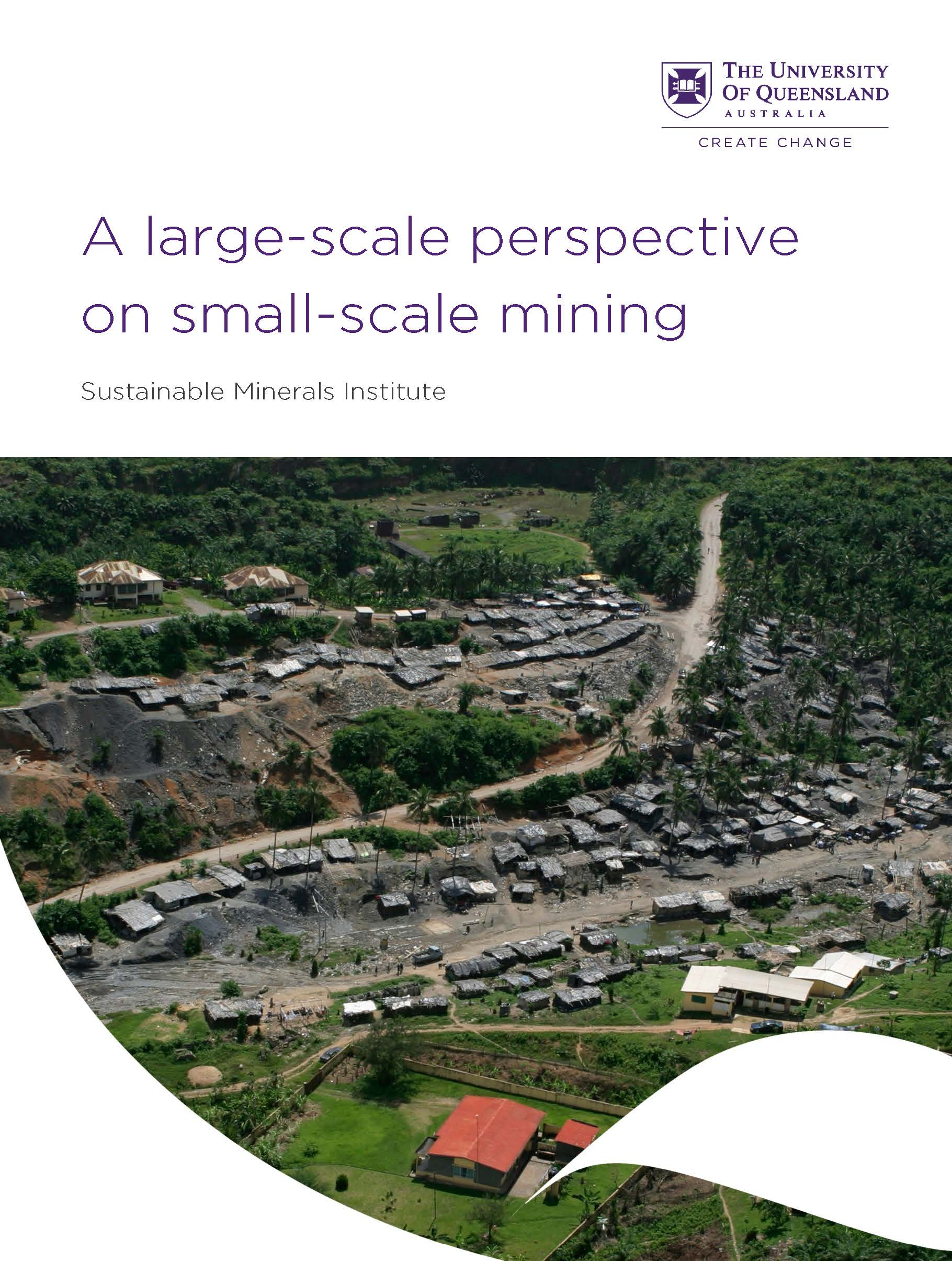 A large-scale perspective on small-scale mining