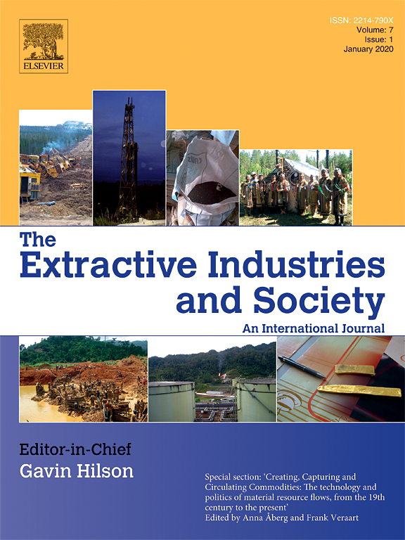 Corporate affairs and the conquest of social performance in mining