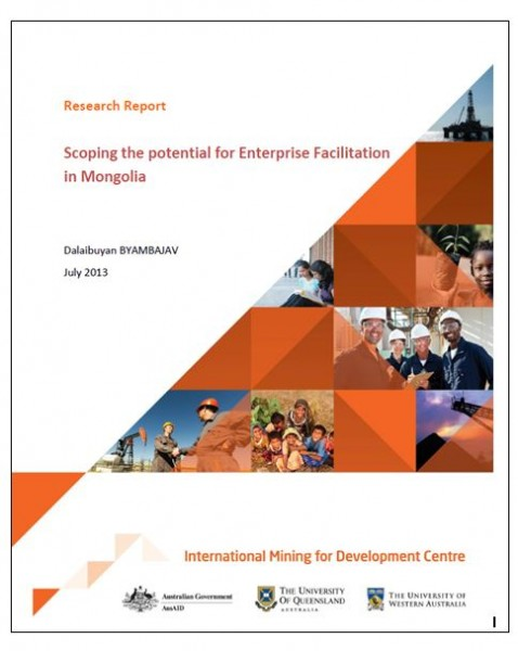 Scoping the potential for Enterprise Faciliation in Mongolia