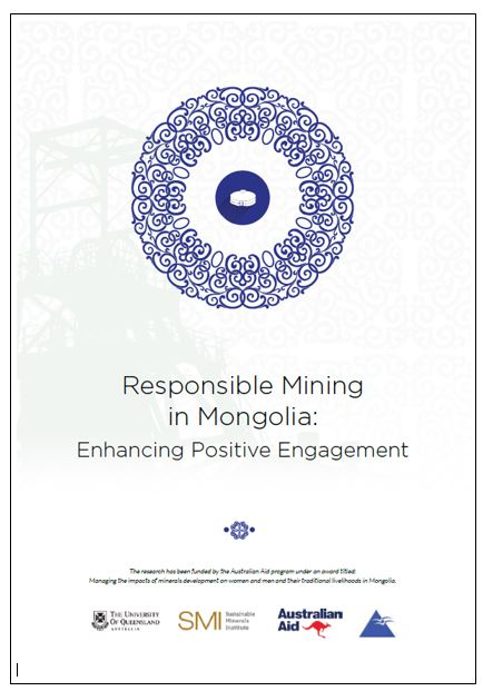 Responsible mining in Mongolia: enhancing positive engagement