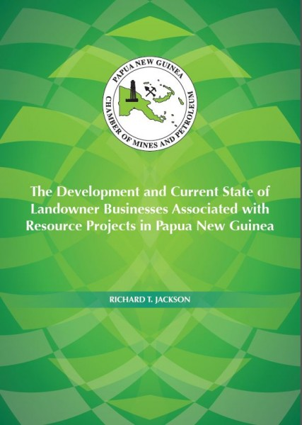 The Developmet and Current State of Landowner Business Associated with Resource Projects in Papua New Guinea