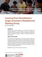 Learning from Resettlement: Anglo American