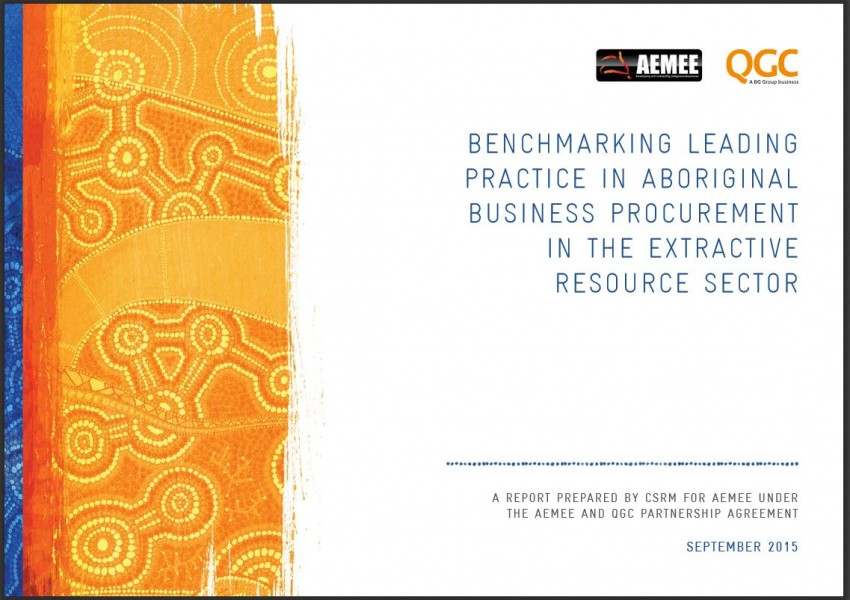 Benchmarking Leading Practice in Aboriginal Business Procurement in the Extractive Resource Sector