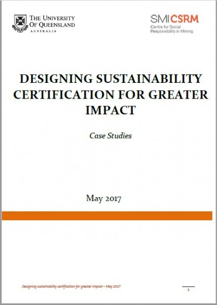 Designing Sustainability Certification For Greater Impact