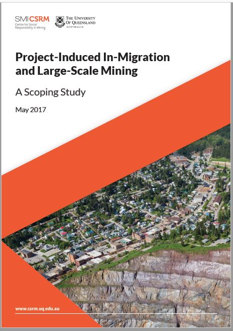 Project-induced in-migration and large-scale mining