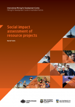 Social Impact Assessment of Resource Projects Cover