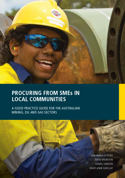 Procuring from SMEs in local communities