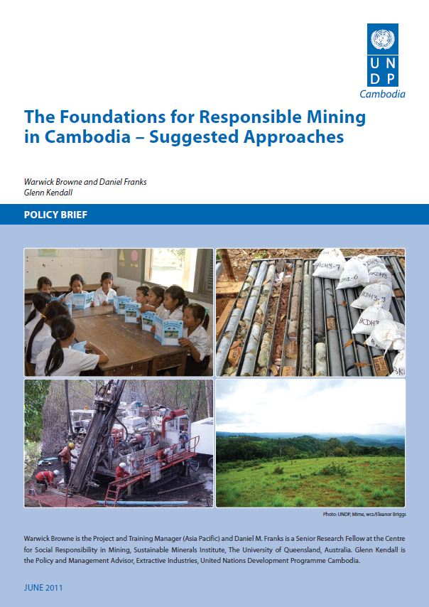 The foundations for responsible mining in Cambodia