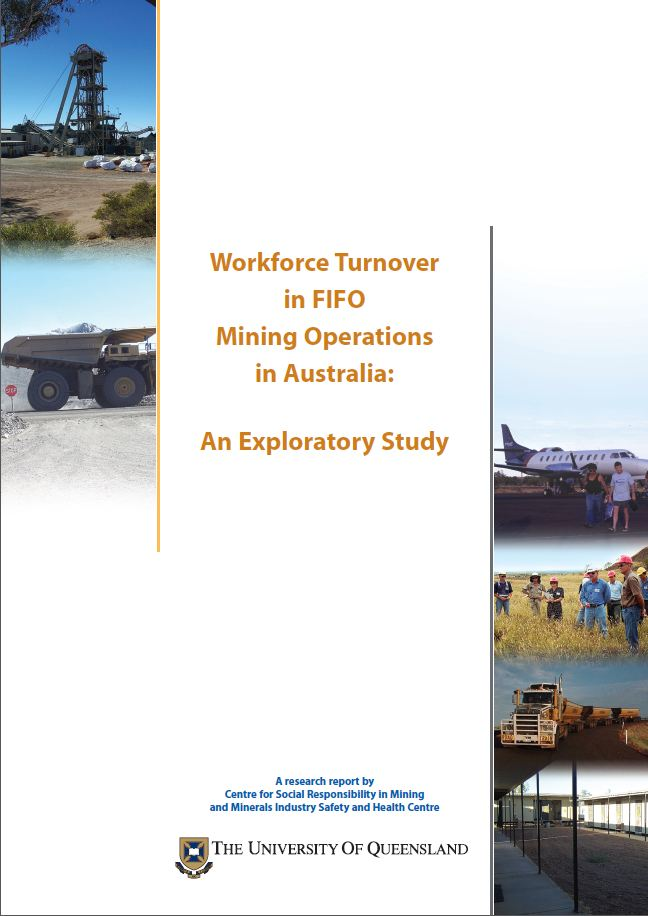 Workforce turnover in FIFO mining operations in Australia: an exploratory study