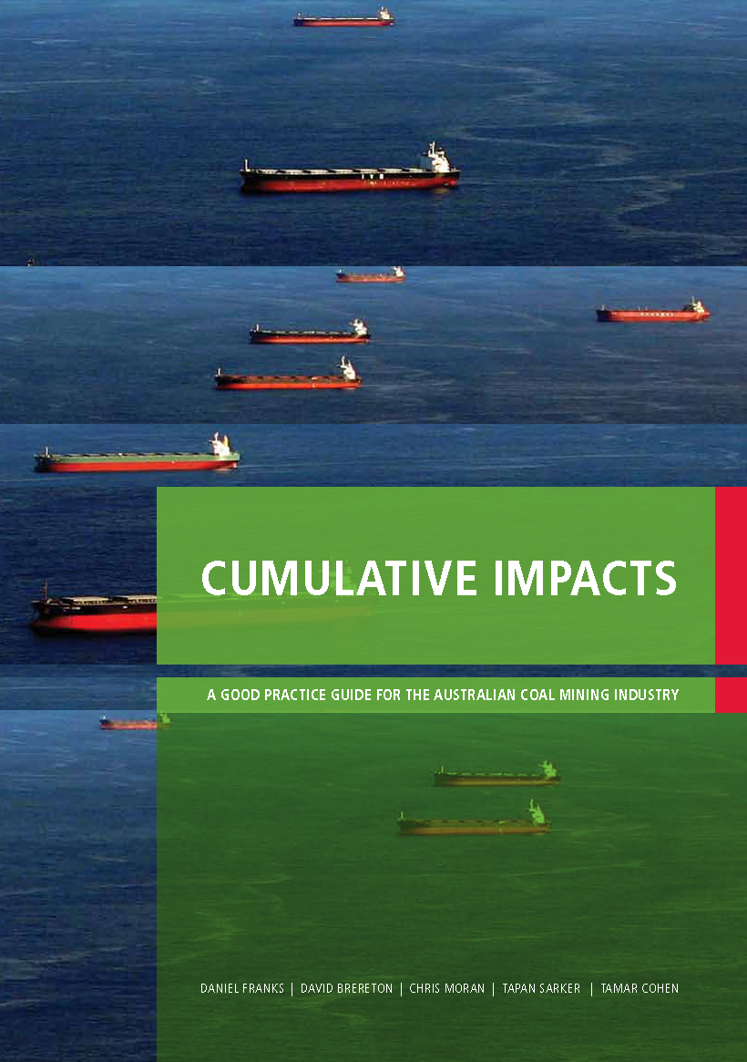 Cumulative Impacts: A good practice guide for the Australian coal mining industry