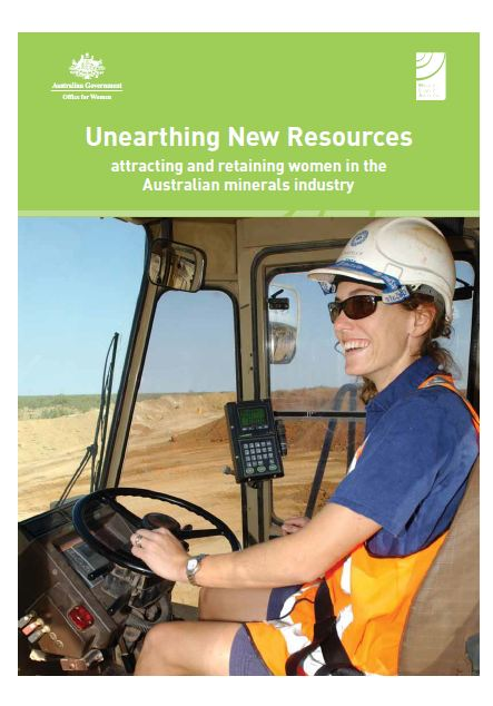 Unearthing new resources: attracting and retaining women in the Australian minerals industry
