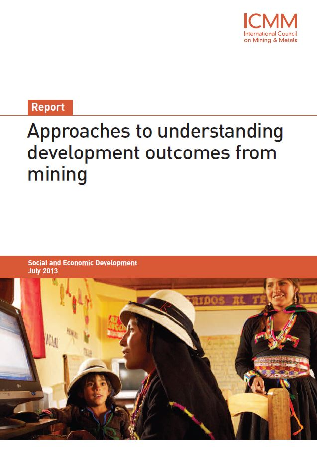 ICMM approaches to understanding development outcomes from mining