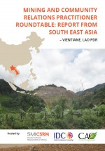 Mining and community relations practitioner roundtable: report from South East Asia