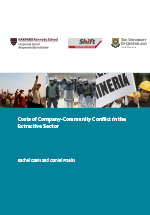 Costs of company-community conflict in the extractive sector