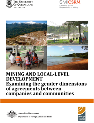 Mining and local-level development: examining the gender dimensions of agreements between companies and communities